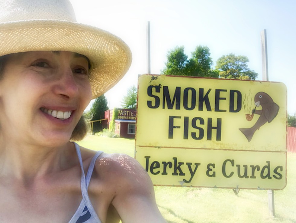 michigan, sign, food, smoked fish, jerky, curds, delicacy, mid-west,