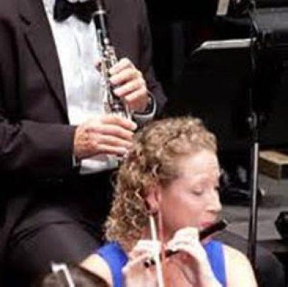 JoAnna Byng on piccolo
