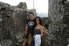 Warren and I at Blarney Castle