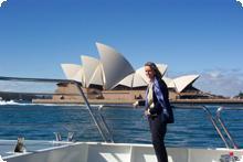 Paula in Sydney, Australia