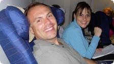 Johnny Jet and Tango Diva on Icelandair