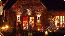 Montrose Garden at Night