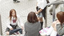 Shibuya Highschool Girls.