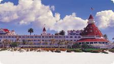 The Hotel Del Coronado.