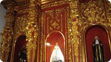 Altar at La Popa from Santa Clara Hotel