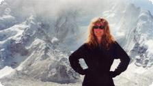 JoAnneh in the Himalayas