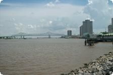 Sitting by the Mississippi