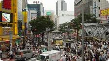 Tokyo's Crowded Streets.