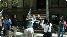 Carrie's front stoop