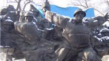 War Memorial in Almaty.
