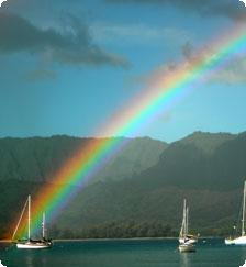 Hanalei Bay Rainbow