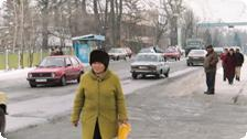 On the Street in Issyk.