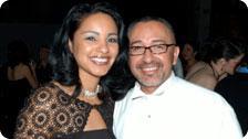 Damien Trujillo, NBC 11 reporter & wife