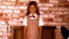 Jennifer as a Brownie, 1976