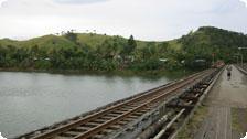 Railroad tracks, Fiji
