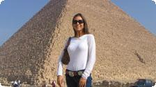Angie in Egypt
