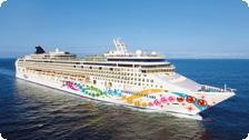 A Norwegian Cruise Line vessel.