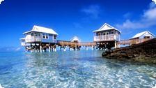 Cabanas at 9 Beaches.