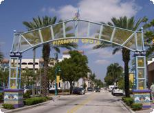 Pineapple Grove entrance