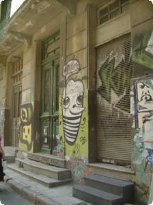 Home in the backstreets of Athens
