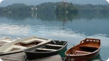 Lake Bled, near Ljubljana