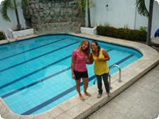 Gorgeous Pool at Hostel Nucapacha