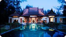 DoublePool Villa at Dawn