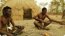 Visit native villages on a Safari.