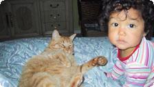 Jiana and Jupiter at our Home.
