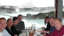 A wonderful lunch at the Blue Lagoon