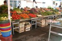 An assortment of vegetables at the marke
