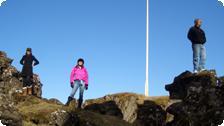 Rock stars in Iceland