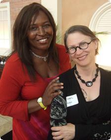 Jerusha Stewart with Carol Queen