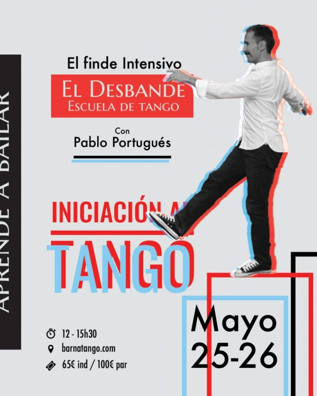 Iniciación al tango desbande