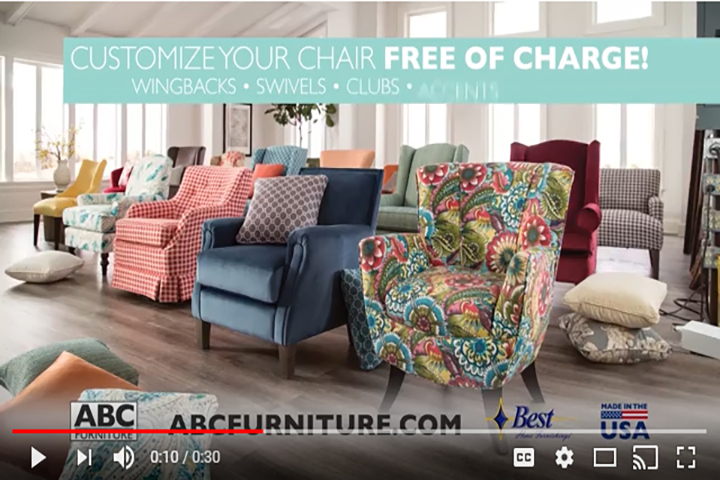 Best Home Furnishings - Custom Seating Event