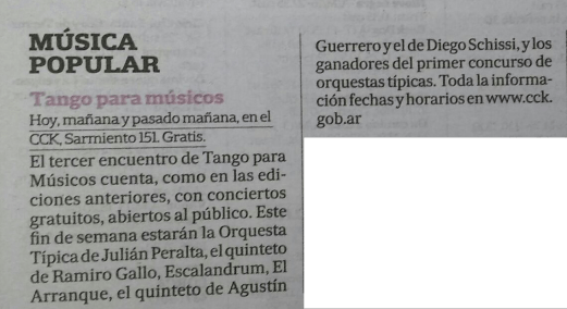 La Nación, 17 feb
