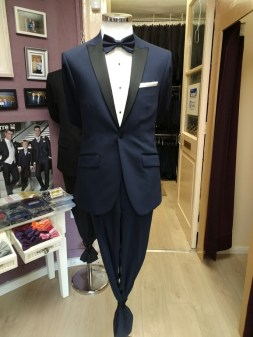 Navy 3 Piece Tuxedo as shown €145