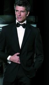 Black Tie Suit Retnal
