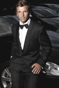 Shawl Collar Tuxedo Retnal
