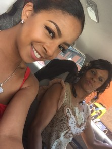 Riding with Mom on Graduation