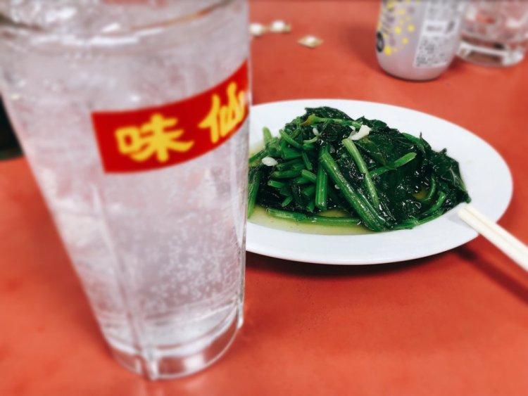 味仙 青菜炒め