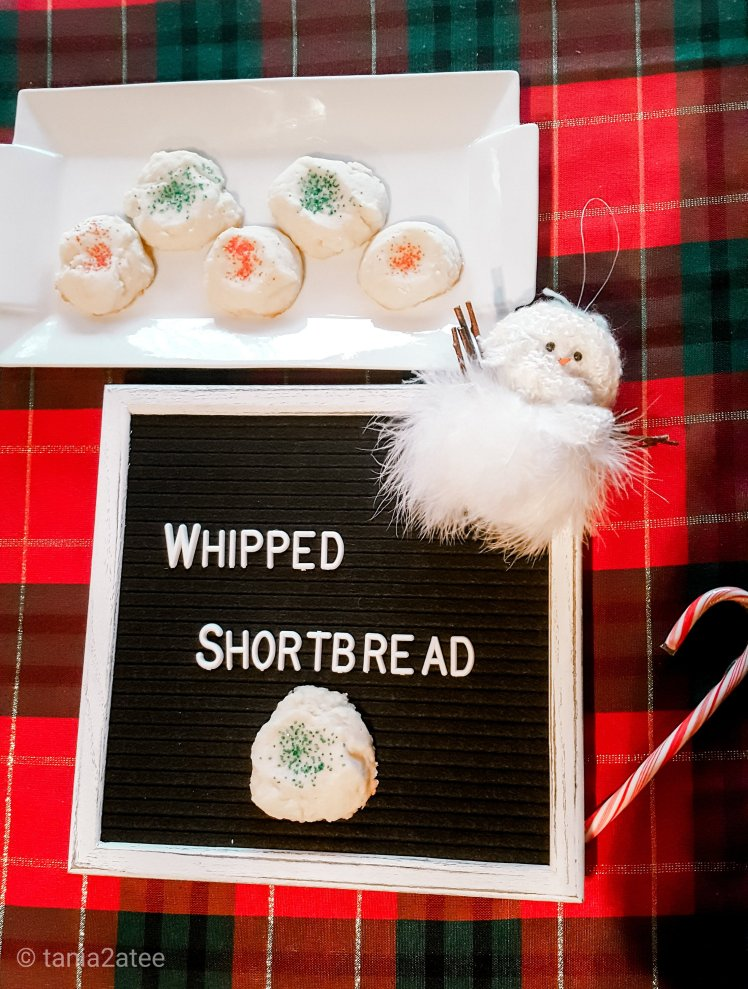 Whipped Shortbread Cookie Recipe: tania2atee
