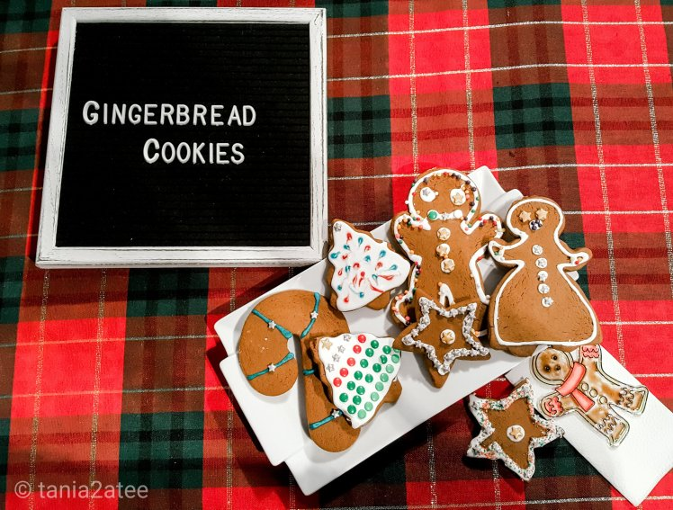 Gingerbread cookies: tania2atee