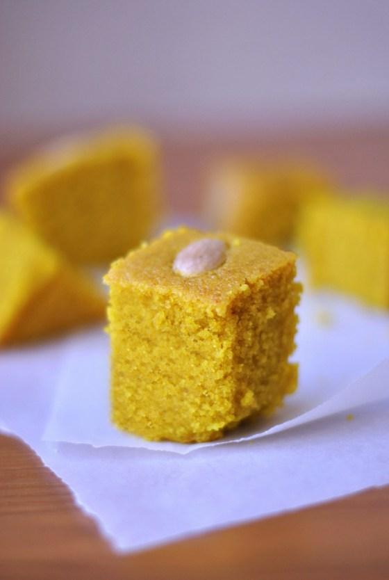Sfouf cake: Anise and turmeric slice