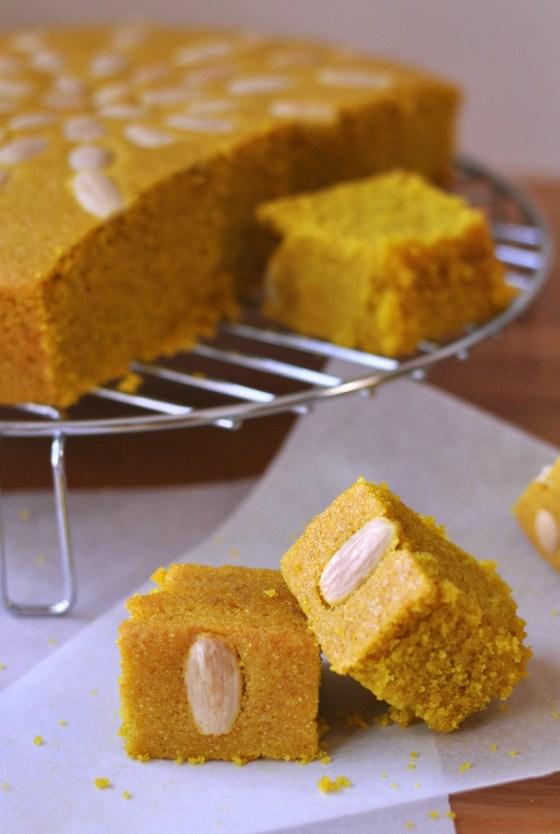 Sfouf cake: Anise and turmeric