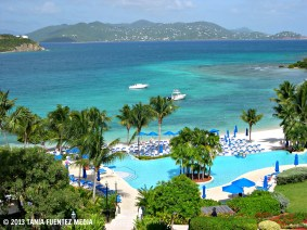 OCEAN VIEW FROM ST. THOMAS, U.S. VIRGIN ISLANDS