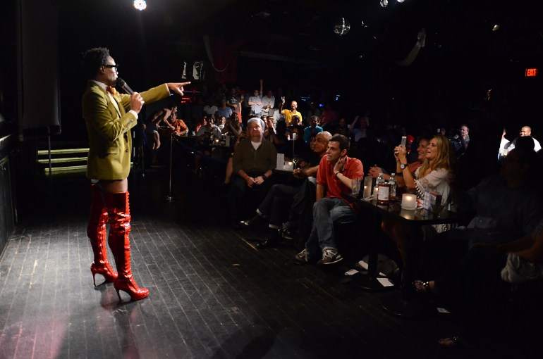 'KINKY BOOTS' STAR BILLY PORTER AT XL NIGHTCLUB PHOTO CREDIT: ANDREW WERNER PHOTOGRAPHY