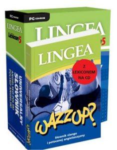 Wazzup 235x300 - Wazzup? Słownik slangu i potocznej angielszczyzny z Lexiconem + CD