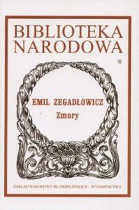 Zmory 199x300 - Zmory - Emil Zegadłowicz