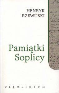Pamiatki Soplicy 190x300 - Pamiątki Soplicy - Henryk Rzewuski